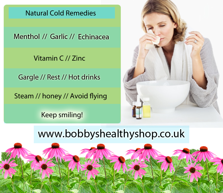 Natural Cold Remedies That Work Fast