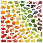 vege colour chart